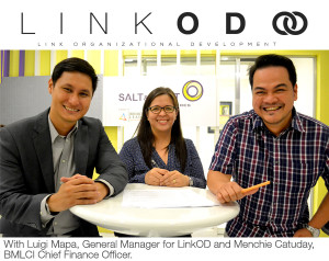LinkOD Partnership Contract signing