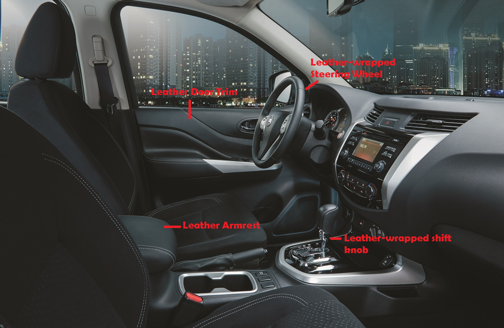 Nissan Navara Sport Edition Interior - Executive Chronicles