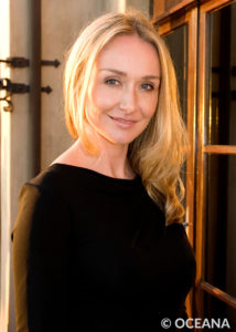 Oceana senior adviser Alexandra Cousteau attends the Sea Change event in Laguna Beach, CA.
