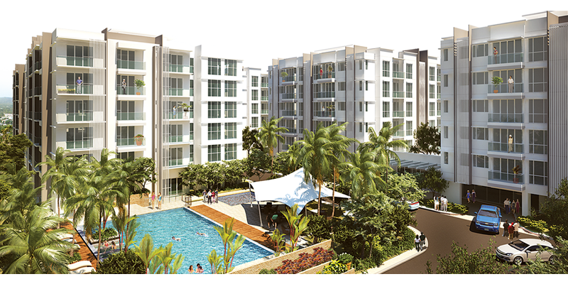 Golfhill Gardens, Mid-rise condominium, Residence in Quezon City, University Town, Capitol Hills