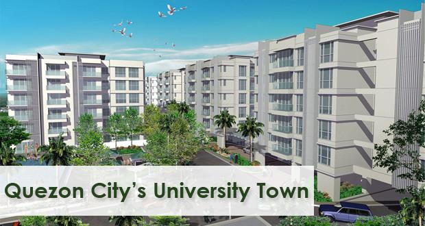 condo in quezon city, Golfhill Gardens, mid-rise condo, university town vibe