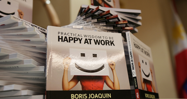 boris joaquin,happy at work,book,workplace