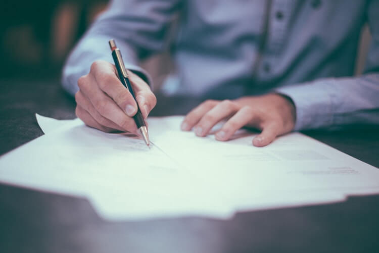 Different Types of VA Loans contract signing Getting a Home Loan