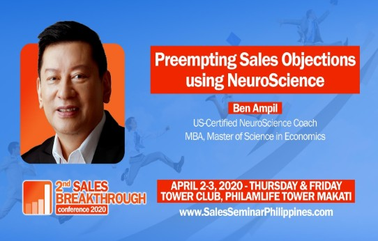 US-Certified Neuroscience Coach Ben Ampil joins 2nd Sales 2020-Executive Chronicles