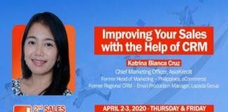 AsiaKredit CMO Katrina Bianca Cruz graces 2nd Sales Breakthrough 2020- Executive Chronicles