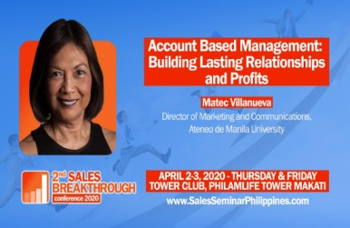 Advertising Veteran Matec Villanueva joins 2nd Sales Breakthrough 2020 - Executive Chronicles