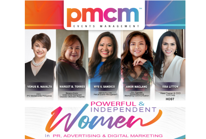 online event pmcm powerful women