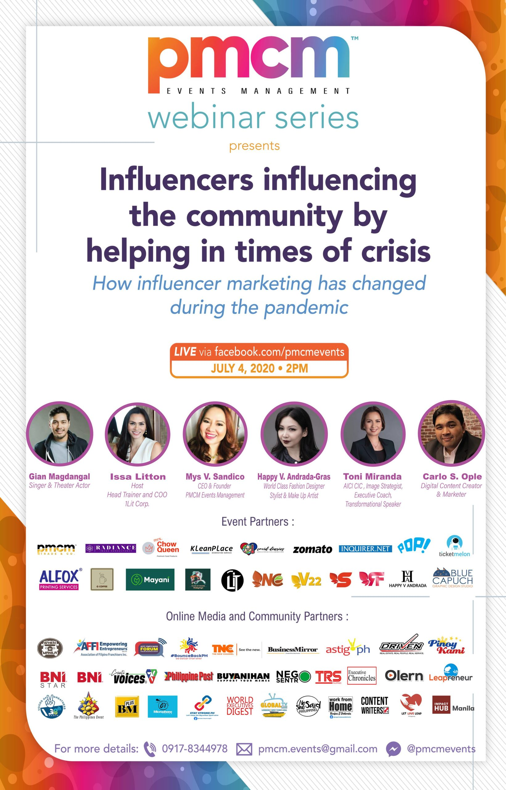 influencers event
